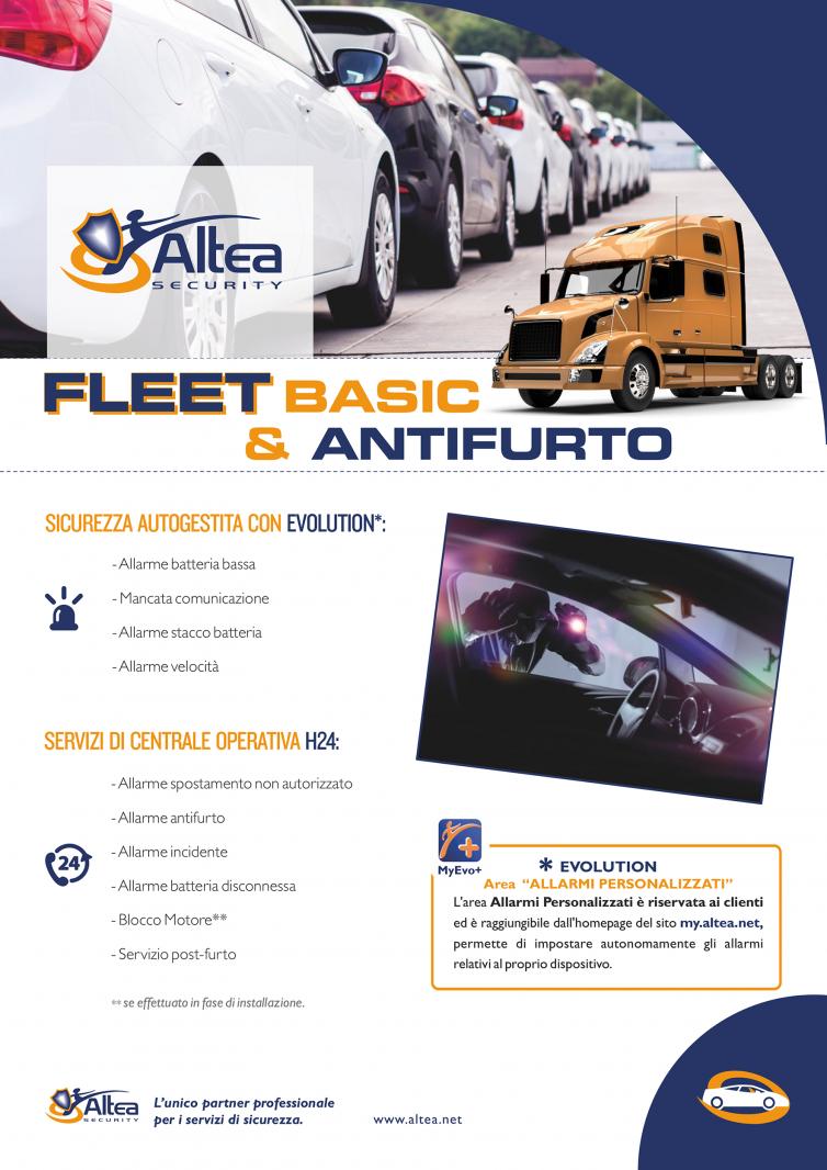 Fleet Basic & Antifurto