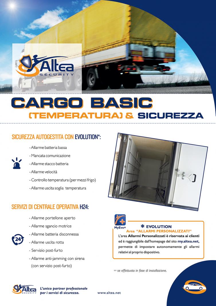 Cargo Basic Temperatura & Sicurezza