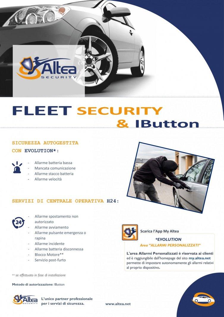 Fleet security & IButton