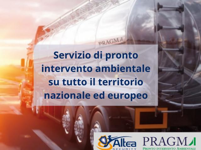 Servizio di pronto intervento ambientale su tutto il territorio nazionale ed europero(1)