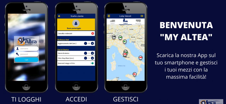 Scarica la nostra App sul tuo smartphone e gestisci i tuoi mezzi con la massima facilità!(1)